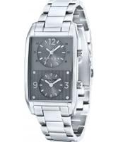 Buy Cross Mens Gotham Grey Silver Watch online