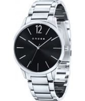 Buy Cross Mens Franklin Black Silver Watch online