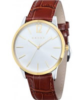 Buy Cross Mens Franklin White Brown Watch online