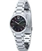Buy Cross Ladies Franklin Black Silver Watch online