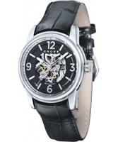 Buy Cross Mens Palatino Skeleton Black Watch online