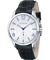 Buy Cross Mens Helvetica White Black Watch online