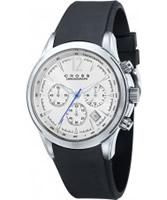 Buy Cross Mens Agency Chronograph White Watch online
