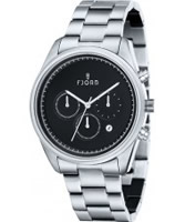 Buy Fjord Mens DAN Chronograph Silver Watch online