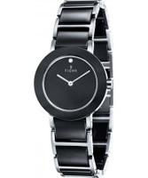 Buy Fjord Ladies CELILIA Black Ceramic Watch online