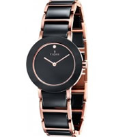 Buy Fjord Ladies CELILIA Ceramic 2 Hand Watch online