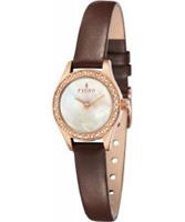 Buy Fjord Ladies MARINA Rose Gold 2 Hand Watch online