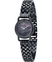 Buy Fjord Ladies JETTE Black 2 Hand Watch online