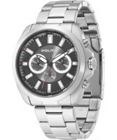 Buy Police Mens Sovereign X Silver Black Watch online