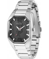 Buy Police Ladies Octane Silver Black Watch online