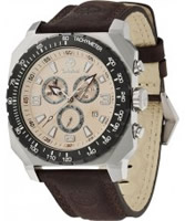 Buy Timberland Mens Stratham Chronograph Brown Watch online