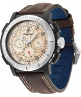 Buy Timberland Mens Edgewood Chronograph Brown Watch online