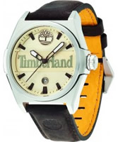 Buy Timberland Mens Back Bay White Brown Watch online