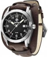 Buy Timberland Mens Newmarket Black Brown Watch online