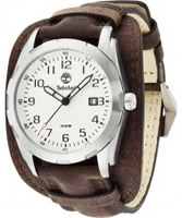 Buy Timberland Mens Newmarket Silver Brown Watch online