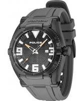 Buy Police Mens Black IP Raptor Watch online