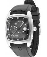 Buy Police Mens Black Torque Rubber Watch online