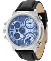 Buy Police Mens Blue Python Chronograph Watch online