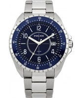 Buy Police Mens Blue Miami Watch online