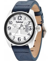 Buy Timberland Mens Sherington Blue Leather Watch online