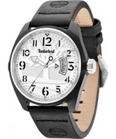 Buy Timberland Mens Sherington Black Leather Watch online
