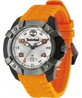 Buy Timberland Mens Chocorua Orange Silicon Watch online