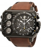 Buy Timberland Mens Black Brown HT3 Chronograph Watch online