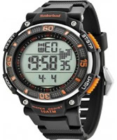 Buy Timberland Mens Cadion Black Silicone Strap Watch online