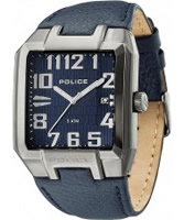 Buy Police Mens Blue Main Street Watch online