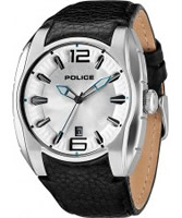 Buy Police Mens Silver New Hampshire Watch online
