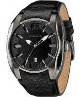 Buy Police Mens Black New Hampshire Watch online