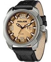 Buy Police Mens Brown Texas Watch online
