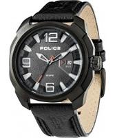 Buy Police Mens Black Texas Watch online