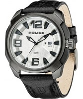 Buy Police Mens White Texas Watch online