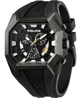 Buy Police Mens Black Hunter Chronograph Watch online