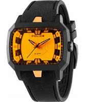 Buy Police Mens Orange Hydra Watch online