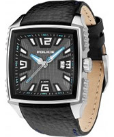 Buy Police Mens Blue and Black Patrol Watch online