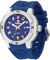 Buy Timberland Mens Altamont Blue Silicone Watch online