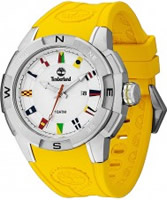 Buy Timberland Mens Altamont Yellow Silicone Watch online