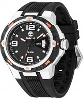 Buy Timberland Mens Black and Grey Champlain Watch online
