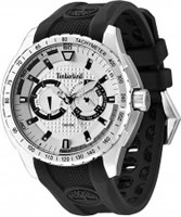 Buy Timberland Mens Juniper Chronograph Black Silicone Watch online
