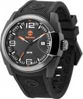 Buy Timberland Mens Lynnwood Black Silicone Strap Watch online