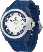 Buy Timberland Mens Lynnwood Blue Silicone Strap Watch online
