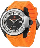 Buy Timberland Mens Lynnwood Orange Silicone Strap Watch online