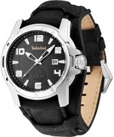 Buy Timberland Mens Durham Black Leather Watch online