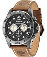 Buy Timberland Mens Black Brown Northfield Chronograph Watch online