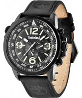 Buy Timberland Mens Black IP Campton Watch online