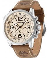Buy Timberland Mens Beige Brown Campton Watch online