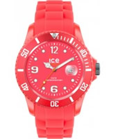 Buy Ice-Watch Ice-Flashy Neon Red Big Big Watch online