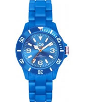 Buy Ice-Watch Ladies Ice-Solid Blue Small Watch online